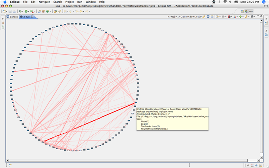 Class Dependency View inside X-Ray,